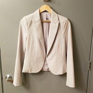 Light gray blazer, size 8